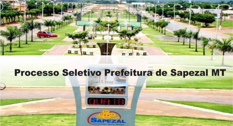 Processo Seletivo Prefeitura de Sapezal MT