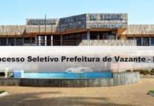 Processo Seletivo Prefeitura de Vazante-MG