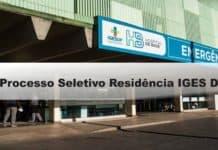 Processo Seletivo Residência IGES DF