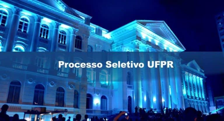 Processo Seletivo UFPR: Inscrições abertas para Professor Substituto