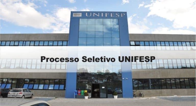 Processo Seletivo UNIFESP: Inscrições encerradas