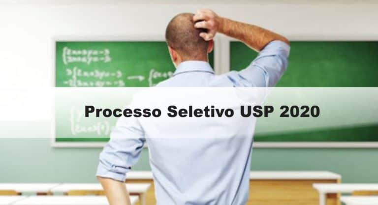 Processo Seletivo USP 2020 – Ribeirão Preto SP
