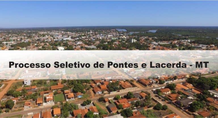 Processo Seletivo da Prefeitura de Pontes e Lacerda – MT: Provas dia 10/01/21