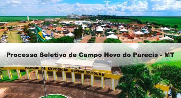 Processo Seletivo de Campo Novo do Parecis – MT: Provas dia 04 e 05/01/21