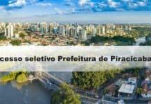 Processo seletivo Prefeitura de Piracicaba SP