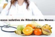 Processo seletivo Prefeitura de Ribeirão das Neves MG