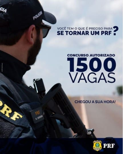 concurso PRF - Concurso PRF Autorizado com 1.500 vagas