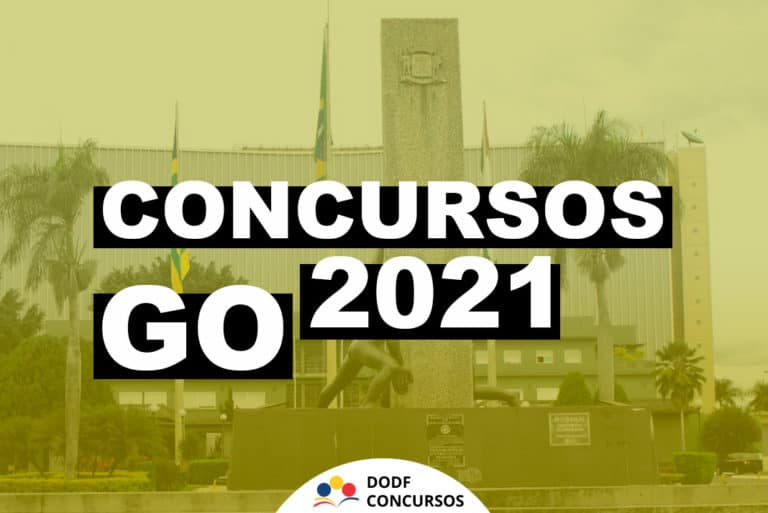 Concurso GO 2021: Principais concursos previstos para o GO em 2021