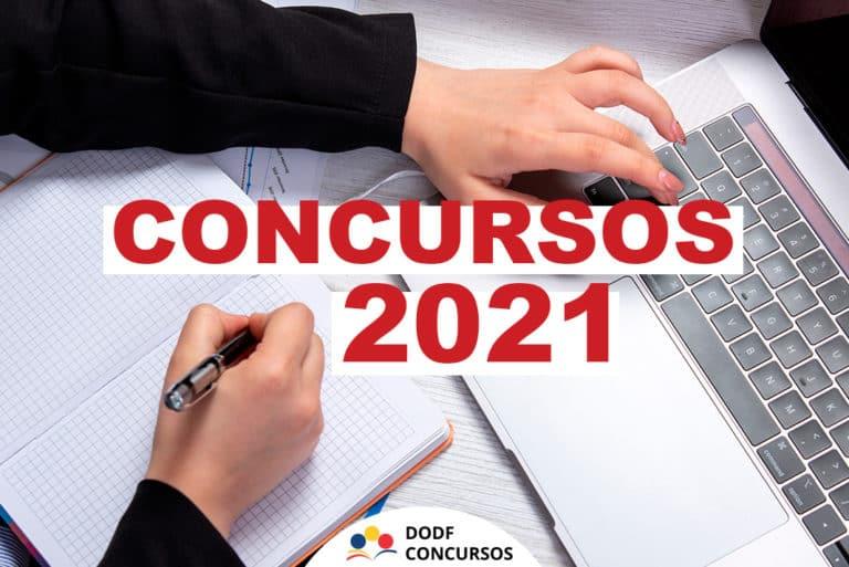 Concursos 2021: Lista de concursos previstos para 2021! [ATUALIZADO]