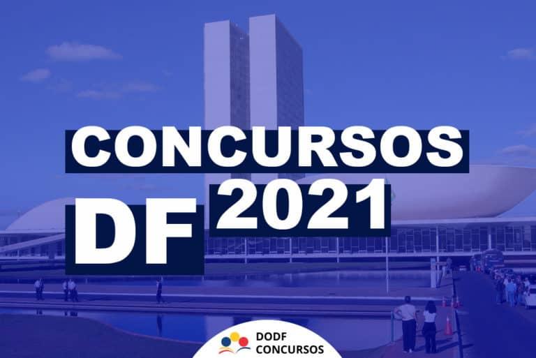 Concursos DF 2021: Principais concursos previstos para o DF em 2021!