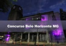 Concurso Belo Horizonte MG