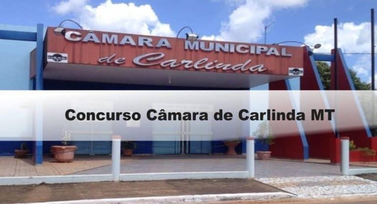 Concurso Câmara de Carlinda MT: Inscrições abertas . VEJA!