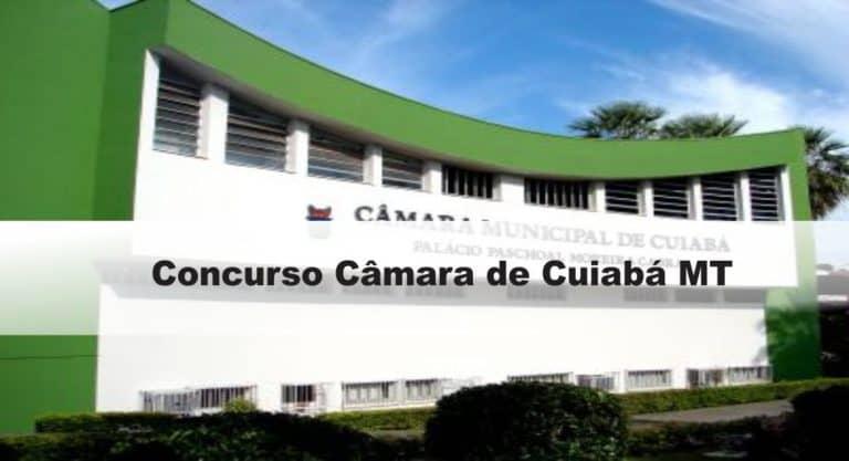 Concurso Câmara de Cuiabá MT: Edital publicado! VEJA!