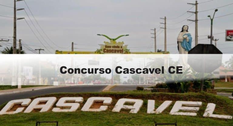 Concurso Cascavel CE: Inscrições encerradas