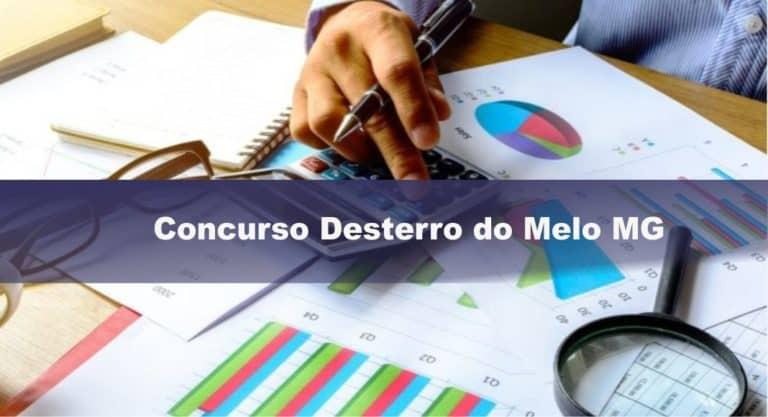 Concurso Desterro do Melo MG: INSCRIÇÕES ABERTAS!