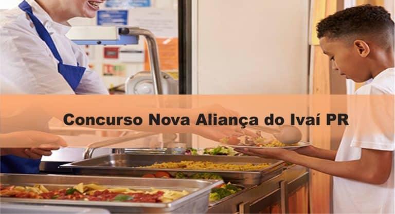 Concurso Nova Aliança do Ivaí PR: Inscrições encerradas. VEJA!
