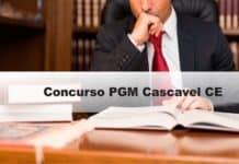 Concurso PGM Cascavel CE
