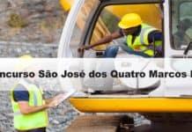 Concurso São José dos Quatro Marcos MT