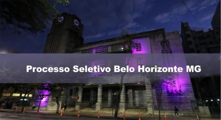 Processo Seletivo Agente Comunitário de Saúde Belo Horizonte MG: Inscrições encerradas
