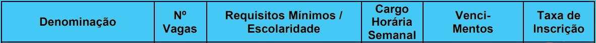 cargos 1 1 - Concurso PGM Desterro do Melo MG: INSCRIÇÕES ABERTAS!
