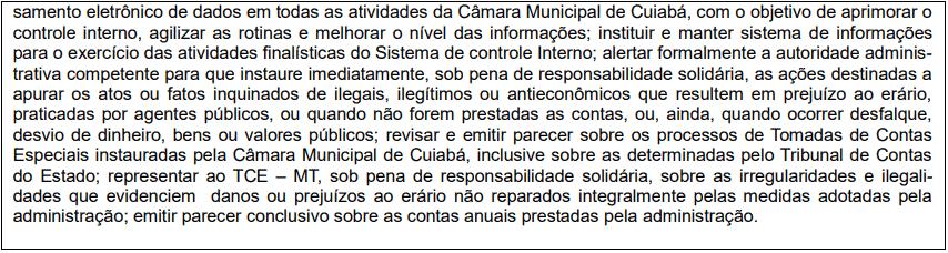 cargos 1 87 - Concurso Câmara de Cuiabá MT: Edital publicado! VEJA!