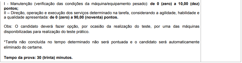 prova pratica 1 18 - Concurso Prefeitura de Brasilândia MS: Inscrições Abertas