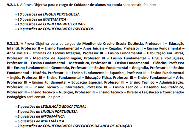 Captura de tela 2021 02 22 172744 - Concurso Prefeitura de Aparecida SP: Inscrições encerradas