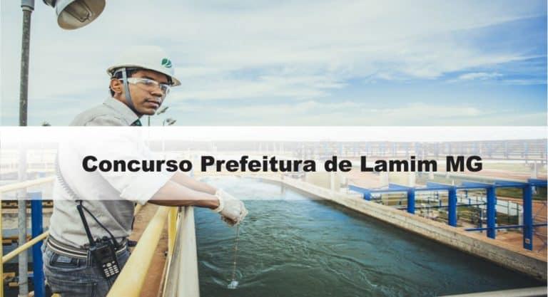 Concurso Prefeitura de Lamim MG: Inscrições encerradas