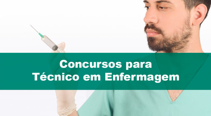 Concursos para Técnico em Enfermagem: para passar rápido