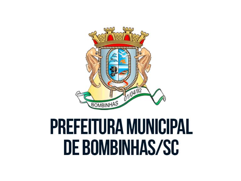Concurso da Prefeitura de Bombinhas SC: Inscrições abertas