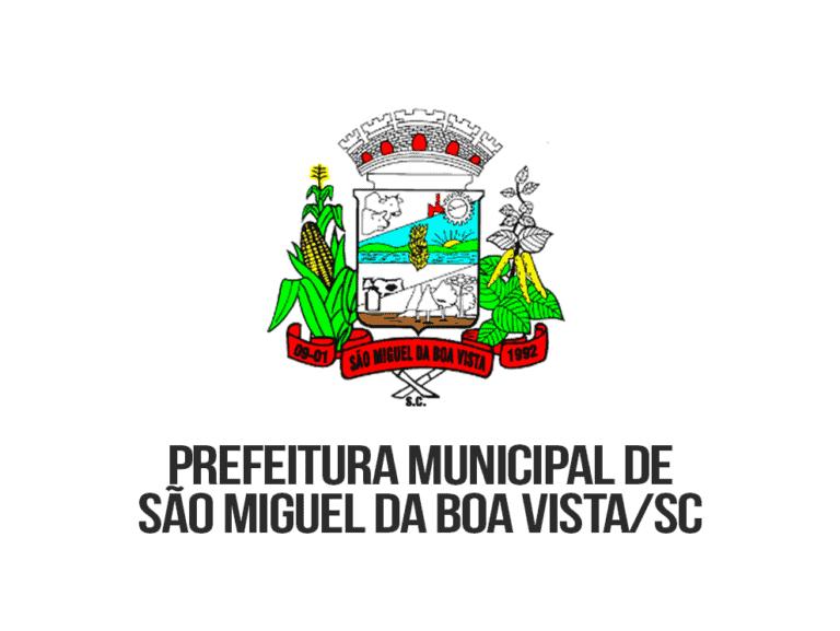 Concurso São Miguel da Boa Vista SC: Edital publicado