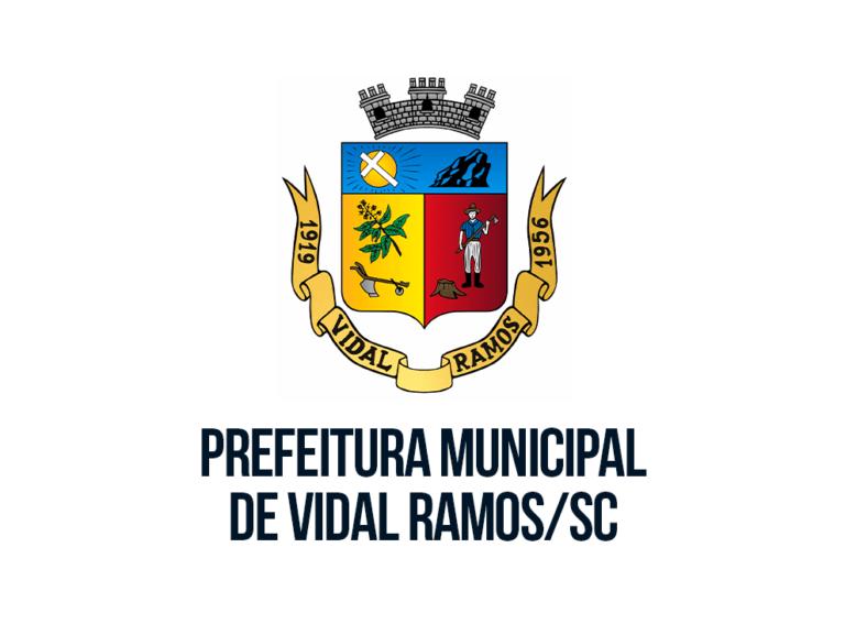 Prefeitura de Vidal Ramos SC: inscrições abertas