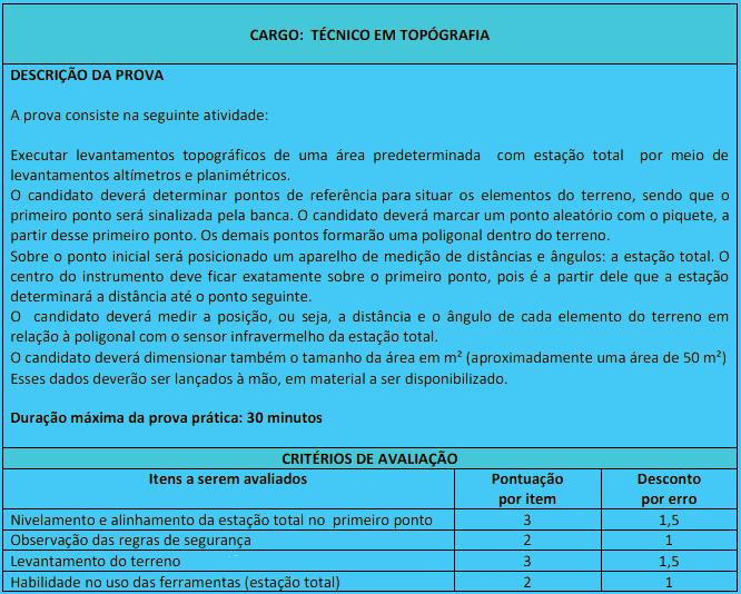 prova pratica 1 4 - Concurso Carmo do Cajuru MG: Inscrições abertas. Veja!