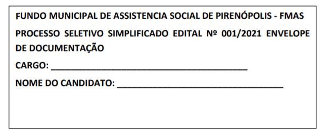 inscricao 1 - Processo seletivo Fundo Municipal de Saúde de Pirenópolis - GO: SAIU EDITAL