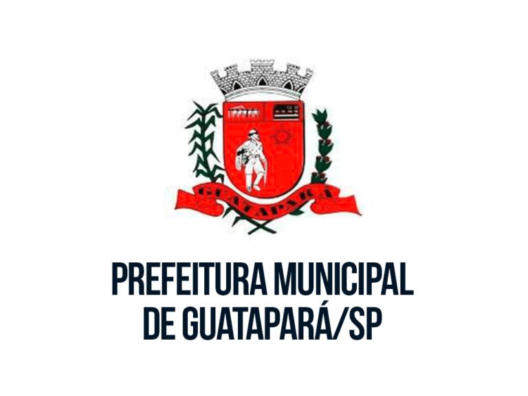 Processo seletivo Prefeitura de Guatapará: Inscrições Abertas