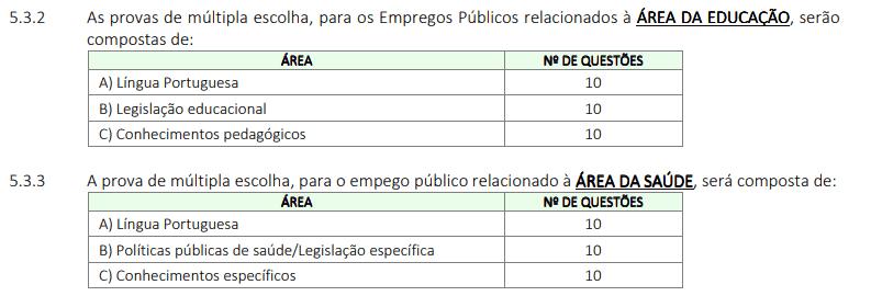 208 - Processo seletivo da Prefeitura de Potirendaba SP: Inscrições encerradas