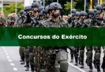 Concursos Exército: como se preparar e ser aprovado