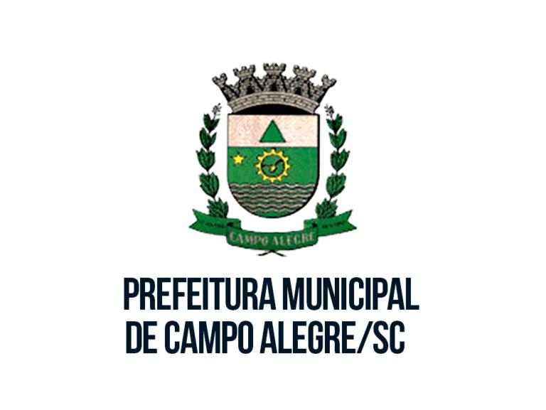 Processo Seletivo Prefeitura de Campo Alegre-SC: Inscrições Abertas
