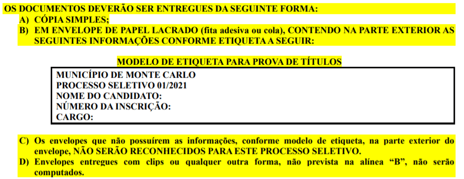 t1 4 - Processo Seletivo Prefeitura de Monte Carlo-SC: Salário de até R$ 16.452,45