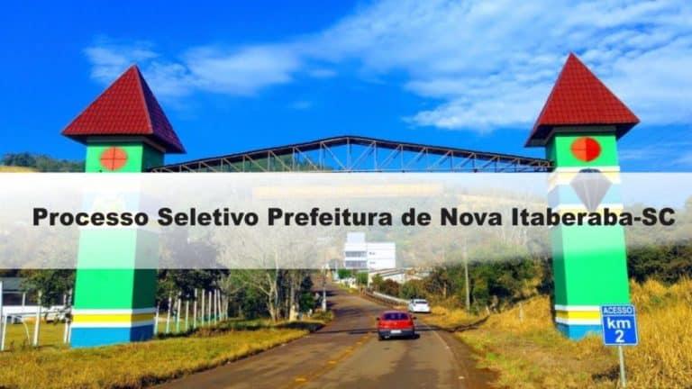 Prefeitura de Nova Itaberaba-SC: Inscrições encerradas