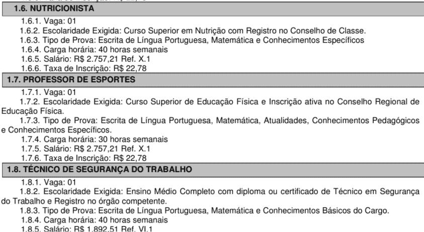 c2 20 - Concurso Público Prefeitura de Itatinga: Inscrições encerradas