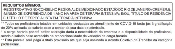 c3 2 - Processo Seletivo Riosaúde: Inscrições encerradas