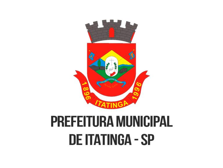 Concurso Público Prefeitura de Itatinga: Inscrições encerradas