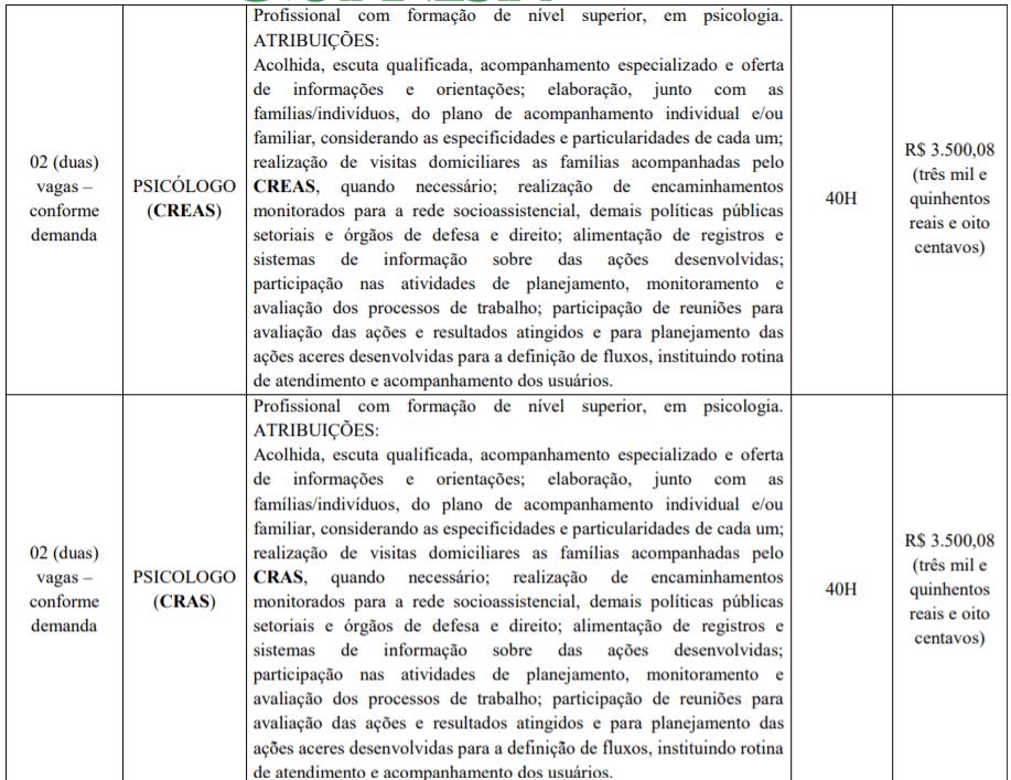 3 2 - Processo Seletivo Prefeitura de Goianésia-GO: Inscrições encerradas
