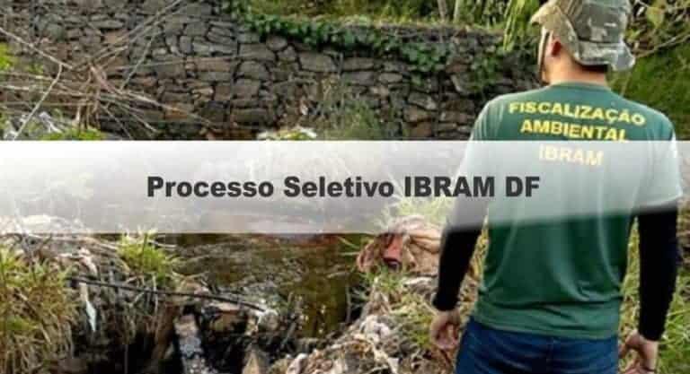Processo seletivo Instituto do Meio Ambiente do DF: Inscrições encerradas