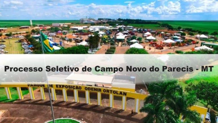 Processo Seletivo Prefeitura de Campo Novo do Parecis-MT: Inscrições encerradas
