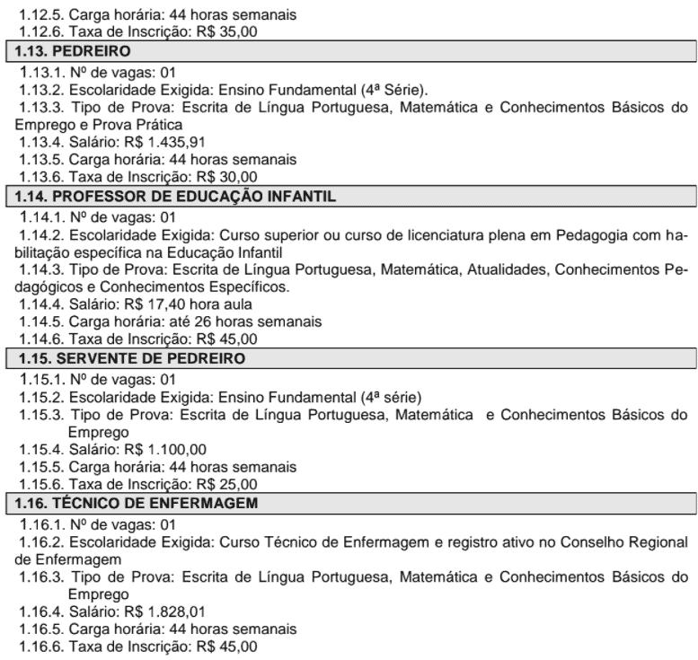 c4 - Concurso Prefeitura de Santa Cruz das Palmeiras-SP: Inscrições encerradas