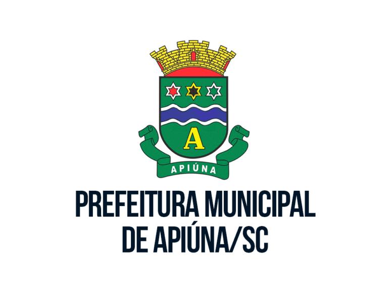 Processo seletivo Prefeitura de Apiúna – SC: Inscrições Abertas