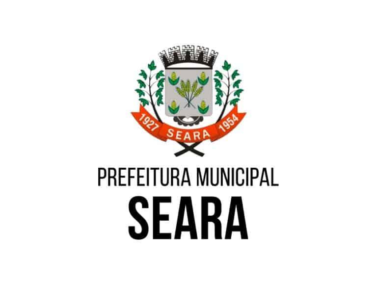 Concurso Prefeitura de Seara SC: Inscrições encerradas