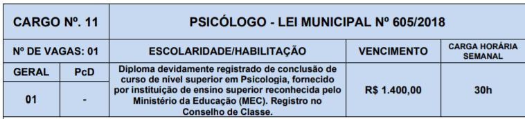 11 - Processo Seletivo Prefeitura de Lagoa Nova-RN: Inscrições abertas